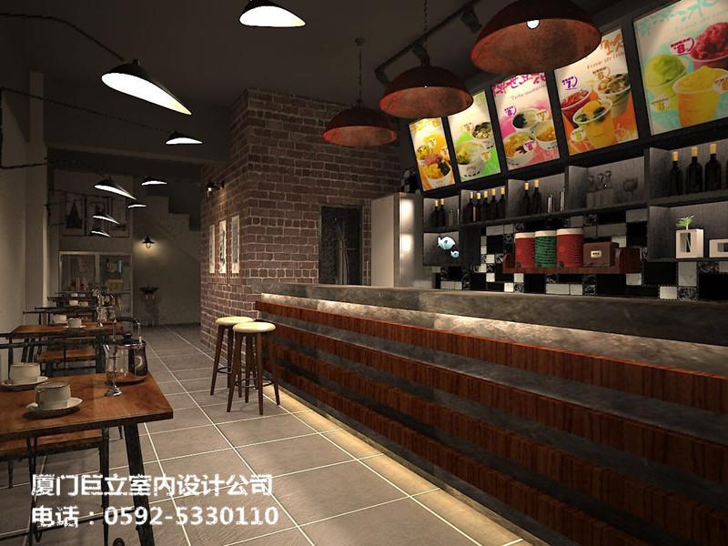 厦门多余咖啡店装修设计