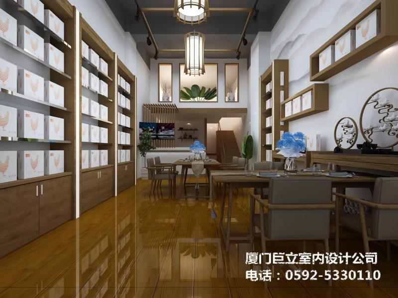 厦门养生产品店唐人玺装修设计项目