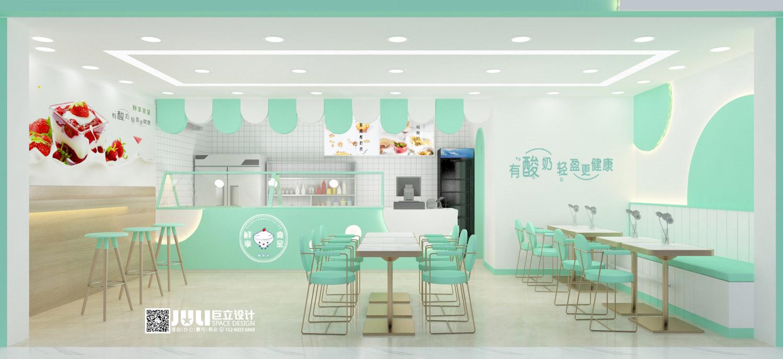 鲜享食呈岳阳石化职院店设计项目
